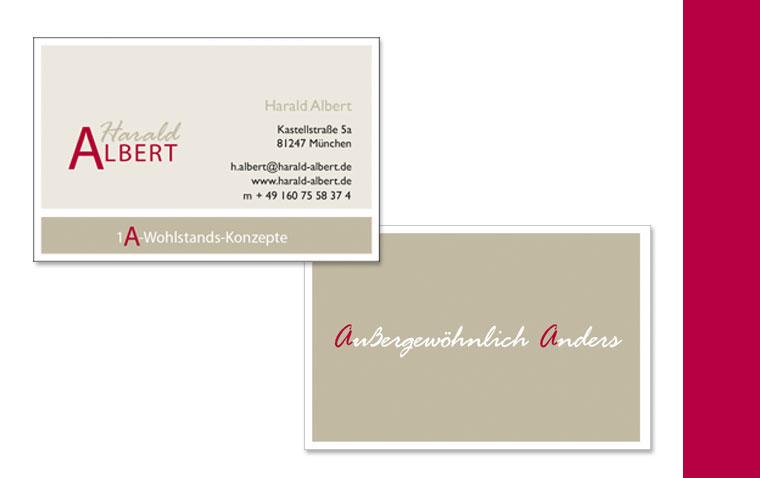 Harald Albert Logo