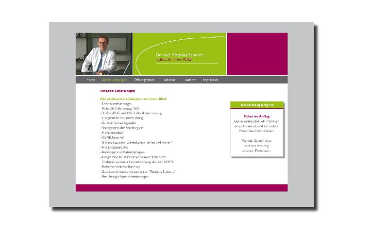 Dr. med. Matthias Schmidt Logo